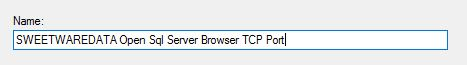 Name TCP Port
